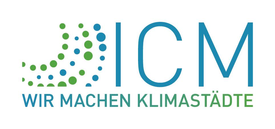 Logo der Innovation City Management mit Claim