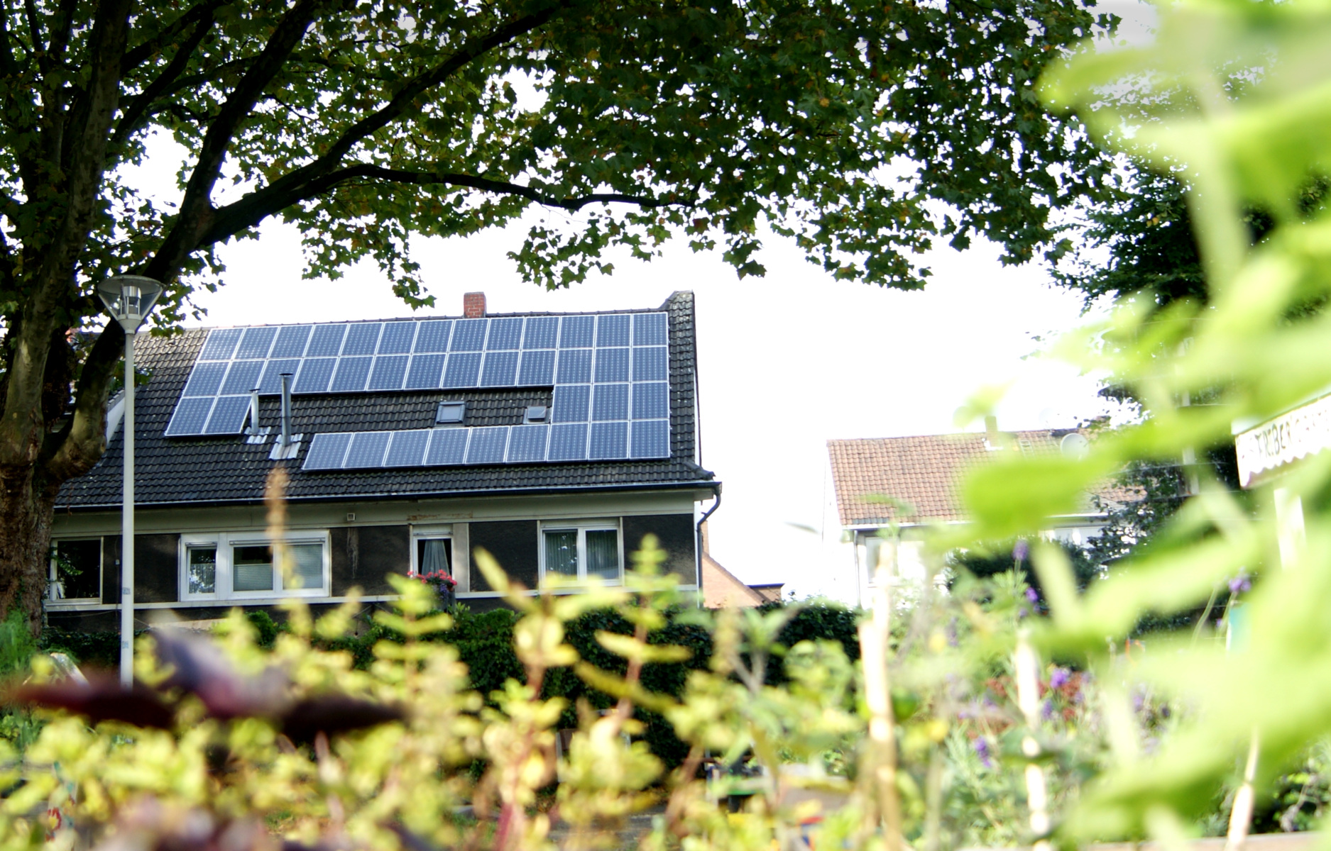 Rooftop PV on residential building