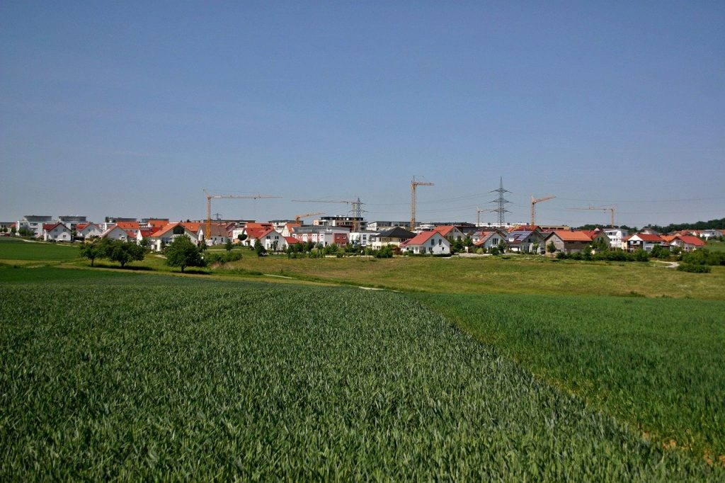 Baugebiet im Landkreis Böblingen